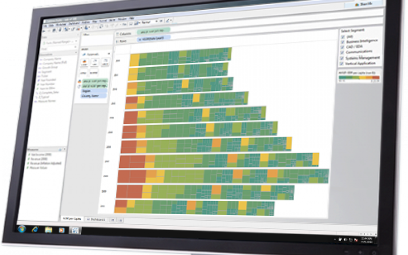 tableau desktop visualization tools in business intelligence